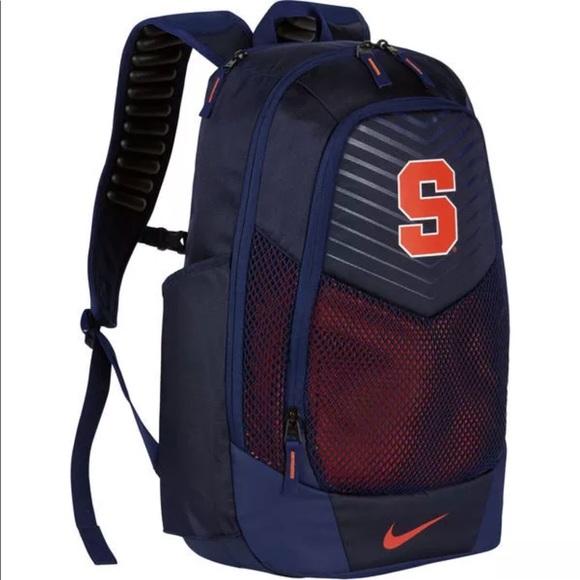 15e80420feb9 New Syracuse Vapor Power Air Max Backpack orange